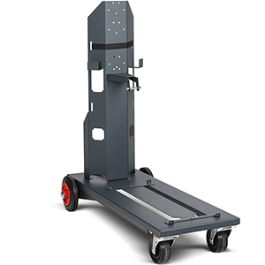 TU Car 4 Standard Trolley with gas cyl. holder